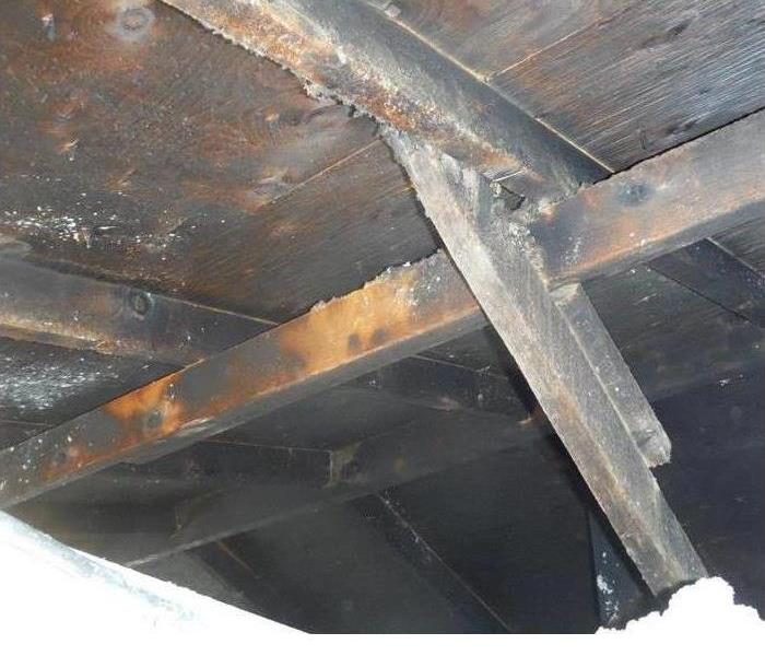 Soot in Attic