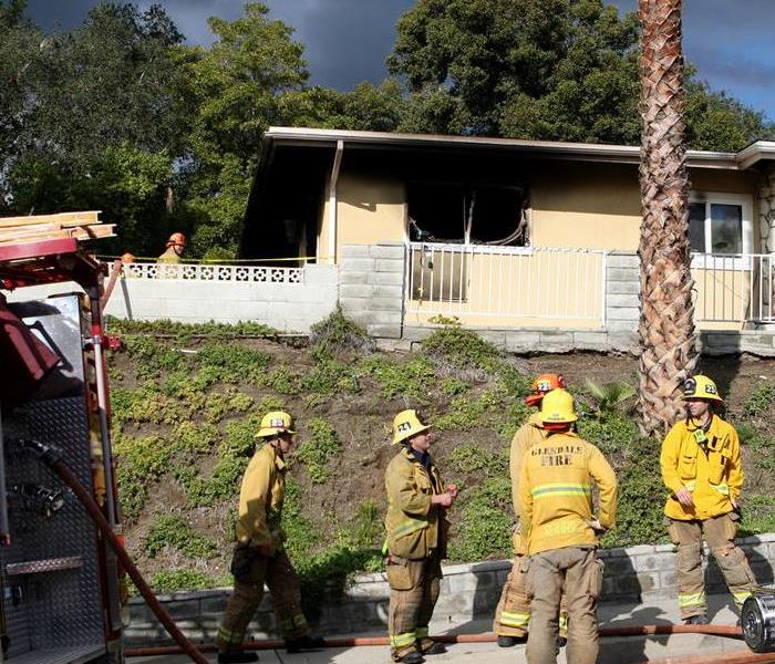 Glendale House Fire