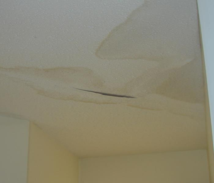Ceiling Leak from Storm