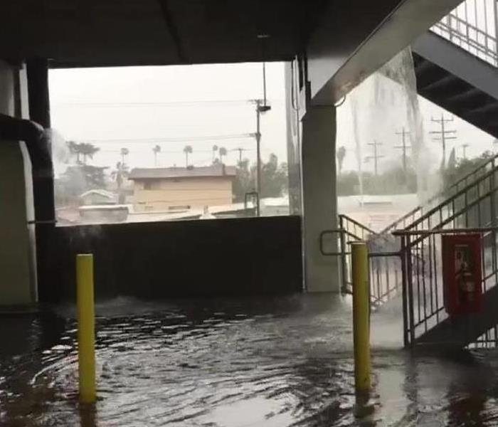 Glendale Galleria Parking Flood